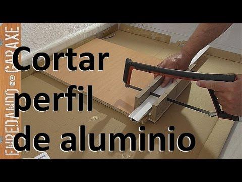 C mo cortar perfiles de aluminio de una mosquitera de for Perfiles de aluminio para toldos de palilleria