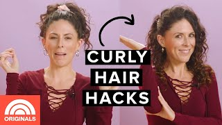 Easy Curly Hair Hacks WITHOUT Damaging Your Hair With Joslyn Davis