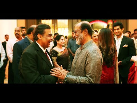 Rajinikanth  - Mukesh Ambani | Soundarya Rajinikanth & Vishagan Vanangamudi's Reception Party