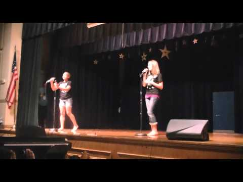 Me and Maddie, talent show!!!