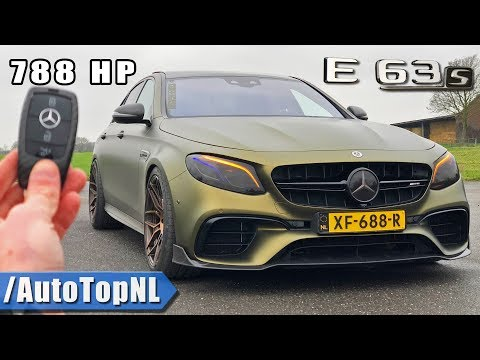 788 HP Mercedes AMG E63 S 307 Km/h POV Review By AutoTopNL
