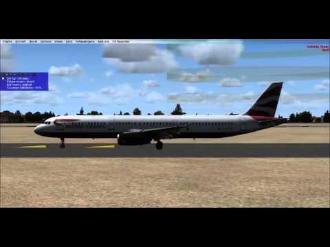 Rome to Naples FSX SMS A321