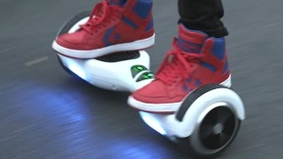 Hoverboards Banned on Some Airlines Due to Safety Concerns