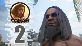 First House - Ep02 - Conan Exiles Removing The Bracelet