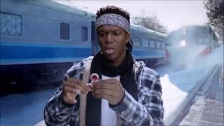 Youtube Rewind 2017 Meme! KSI hit by train(Not Clickbait) (Graphic)