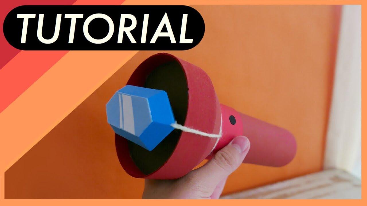 DIY: Gravity Falls - Como hacer la Linterna de Gravity Falls - YouTube