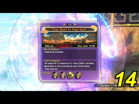 Dragon Ball Xenoverse 2 ALL Expert Mission Locations (EXPERT MISSIONS/QUESTS)