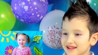 1 ГОД КАНАЛУ ЕСЕНИЯ / Празднуем день рождения / Много шариков и торт / Видео для девочек