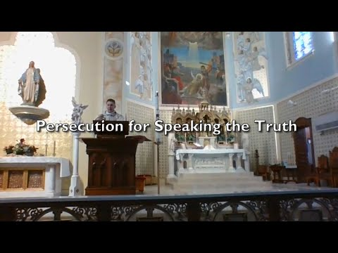 Fr. Altman: Persecution for Speaking the Truth