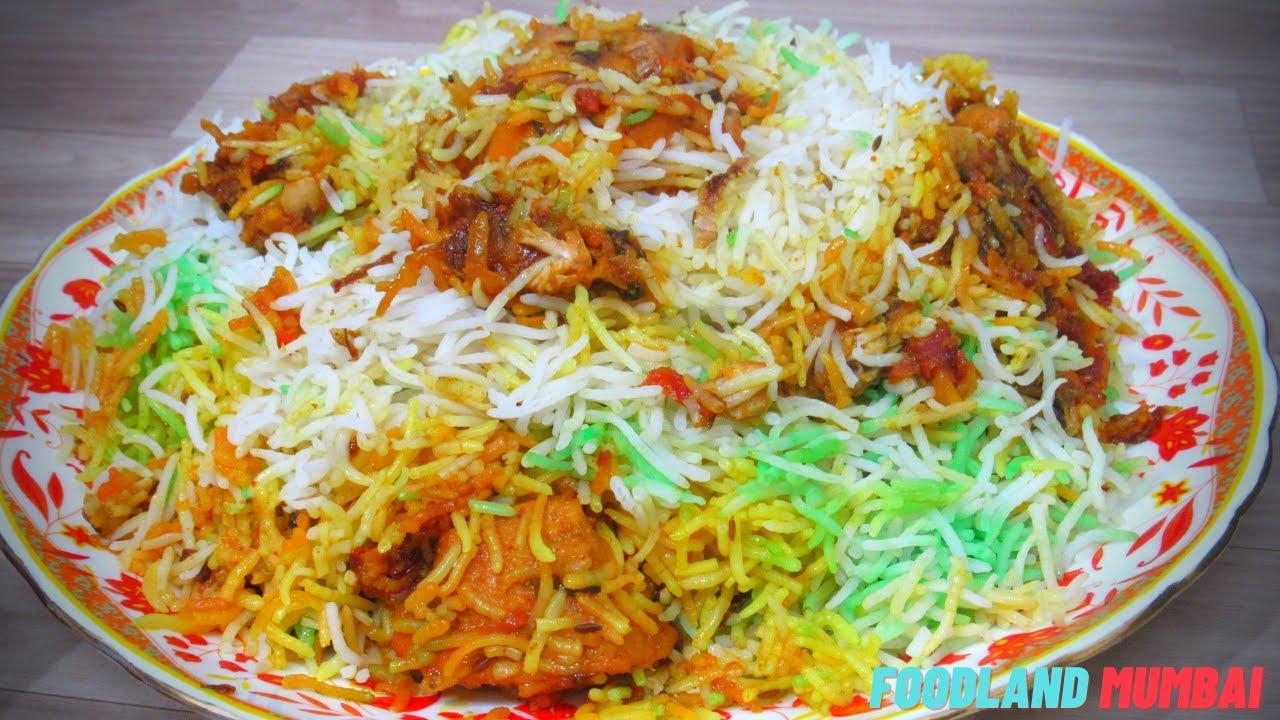 Muslim Style Chicken Biryani Recipe | Special Event Biryani | Better than Catering | Foodland Mumbai