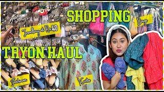 CRAFT BAZAAR Jewellery & Kurti Shopping + TryON Haul! New Sarojini? Starts Rs.40  ThatQuirkyMiss