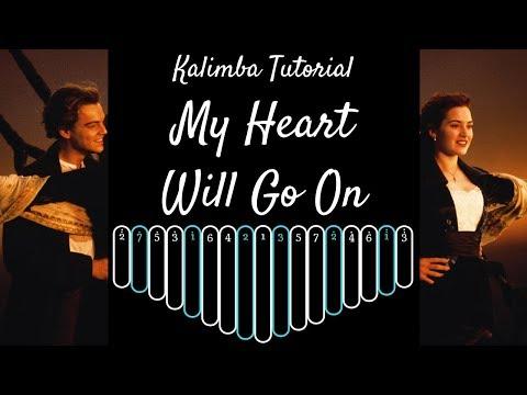 【EASY Kalimba Tutorial】My Heart Will Go On from Titanic thumbnail