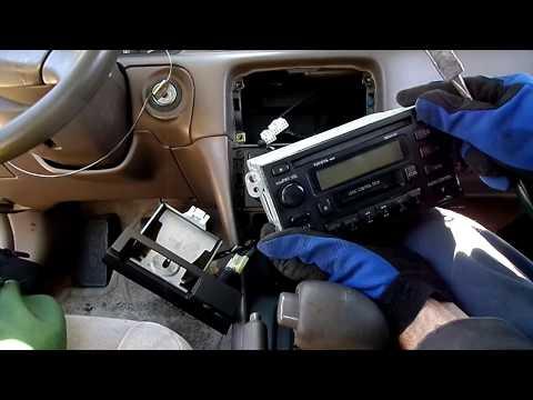 Toyota Camry Radio Removal