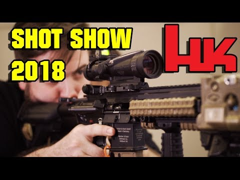 HECKLER & KOCH Shot Show 2018 HK433, M110A1 CSASS & more