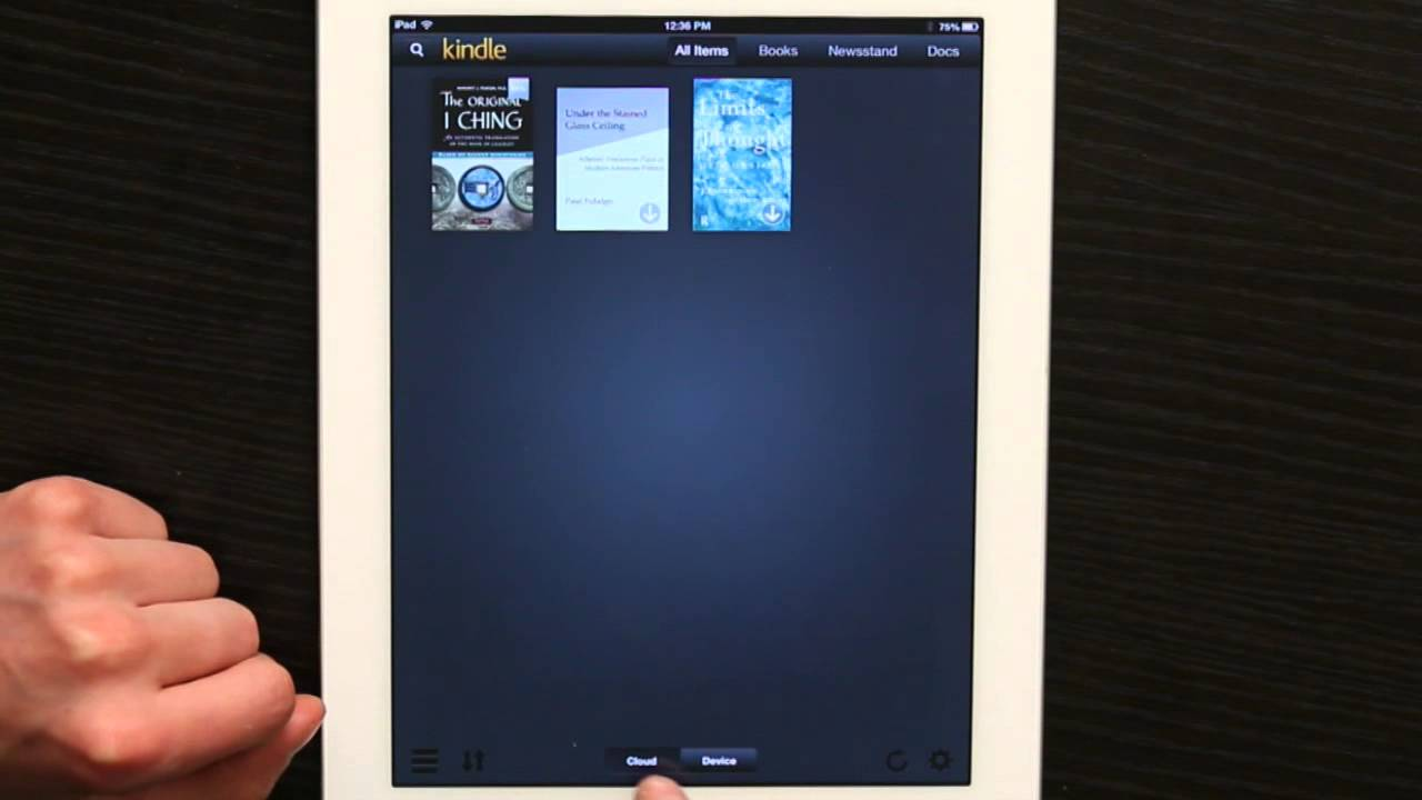 Kindle Book From Ipad To Pc
