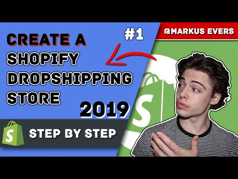 Create A Branded Dropshipping Store In 2019 #1 - Shopify Walkthrough thumbnail