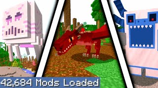 Minecraft but I downloaded every single mod again 3...