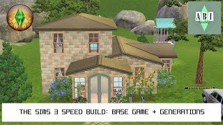 THE SIMS 3 SPEED BUILD: BASE GAME AND GENERATIONS l ABI BUILD / Видео