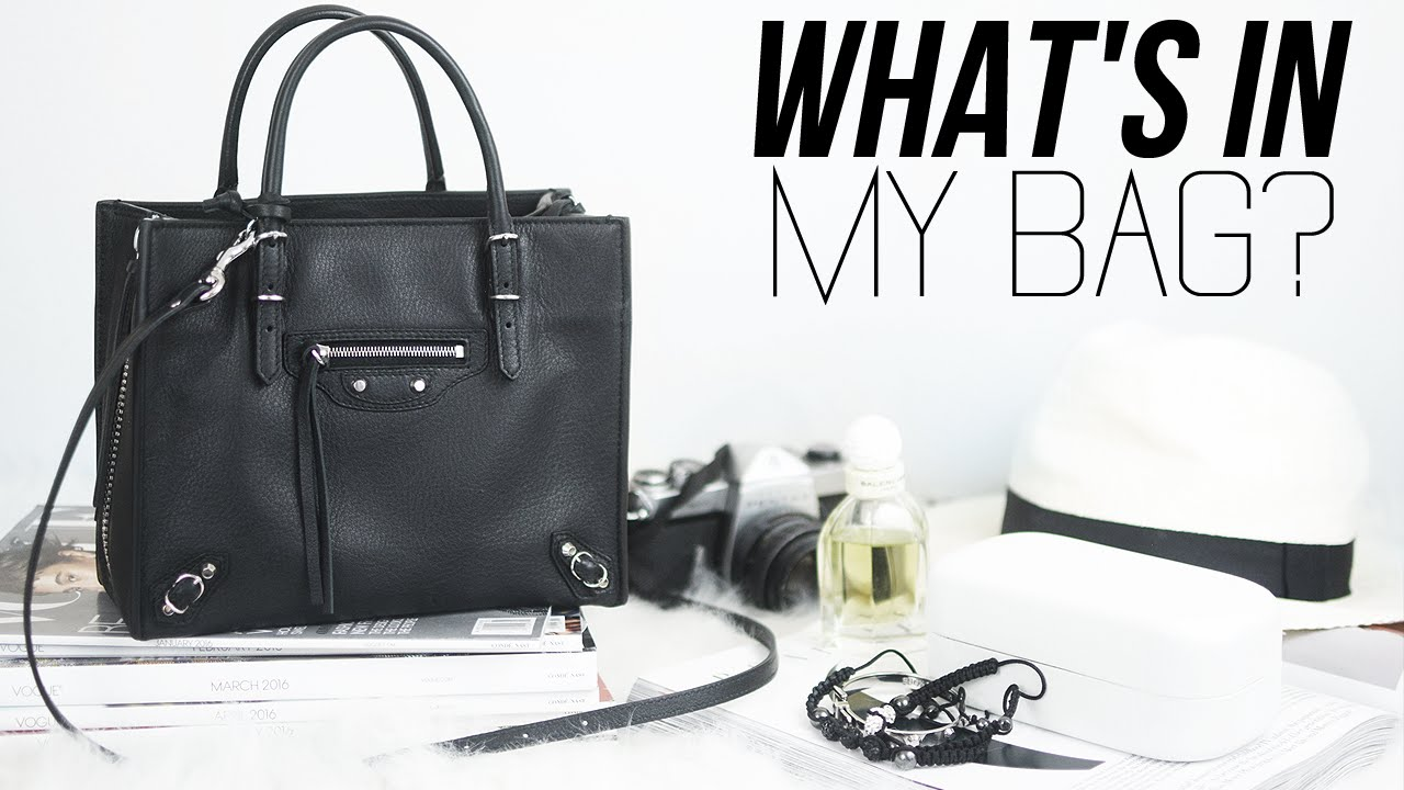 4aa1458e9 What's In My Bag - YouTube