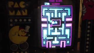 Playing Baby Pacman pinball/videogame