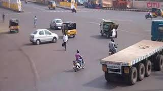 Vizag City Police - Convent Junction Accident