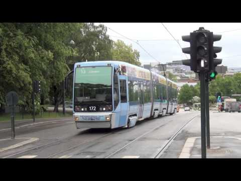 Oslo Norway Trams