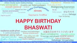 Bhaswati   Languages Idiomas - Happy Birthday