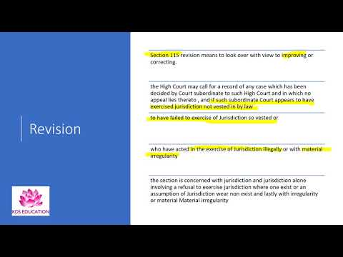 CPC – APPEAL, REFERENCE, REVISION, REVIEW