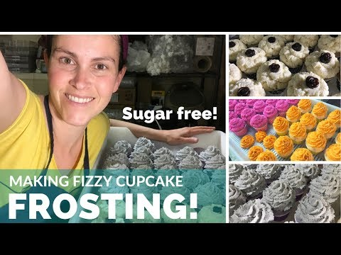 🔴  Fizzy Cupcakes Frosting (Without Sugar!) | Live Video