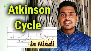 Atkinson Cycle | Atkinson Cycle in Hindi | Atkinson Cycle Efficiency Derivation | Air Standard Cycle