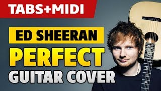 [Tutorial] Ed Sheeran – Perfect Guitar Cover (solo fingerstyle acoustic guitar with TAB)