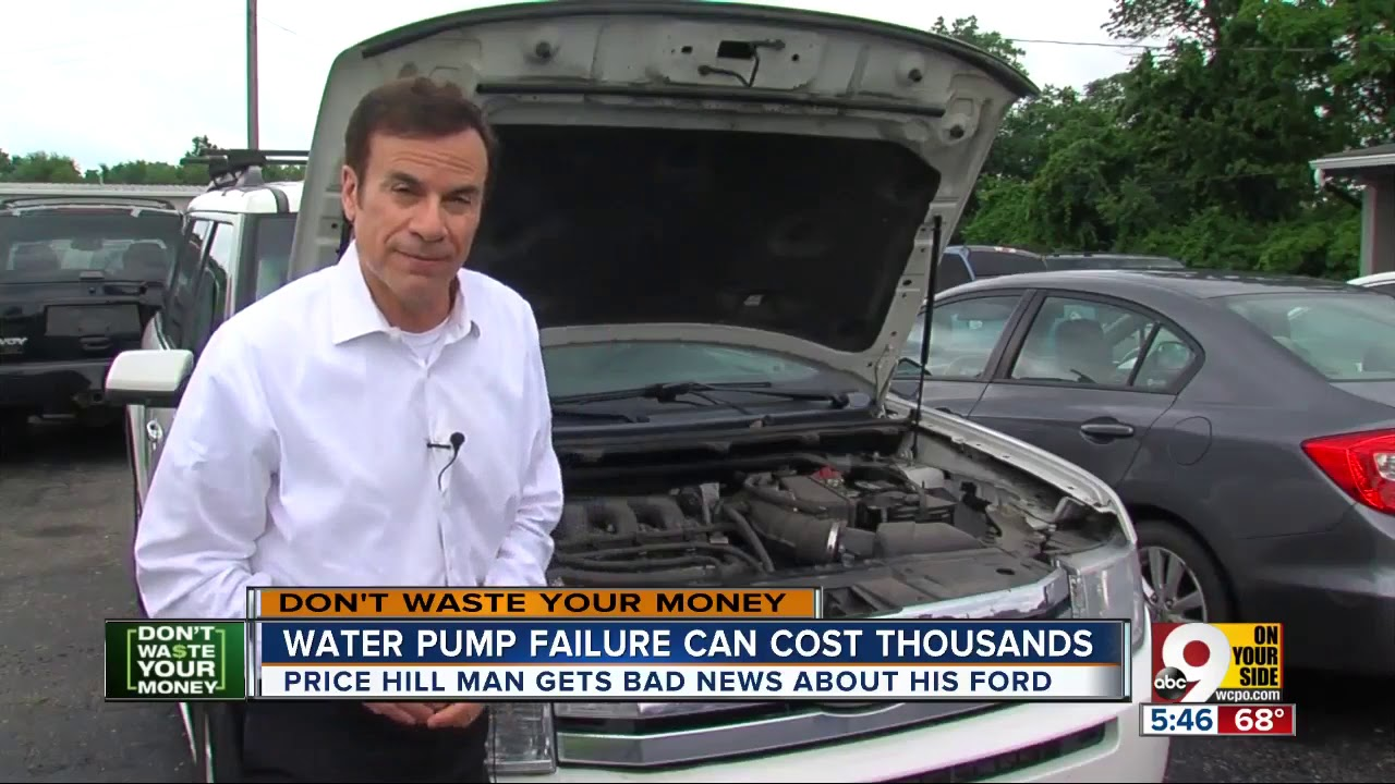 Water Pump Car Cost >> Ford Water Pump Repair Can Cost Thousands Youtube