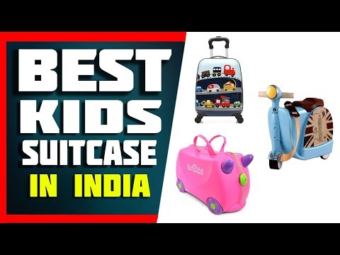 Top 5 Best Kids Suitcase/Luggage In India 2019 With Price