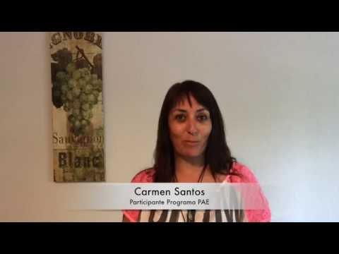 Testimonio Carmen Santos - Participante Programa PAE