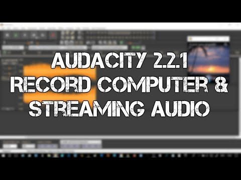 Audacity Audio Editor 2.2.1 Record Computer Audio On Win10