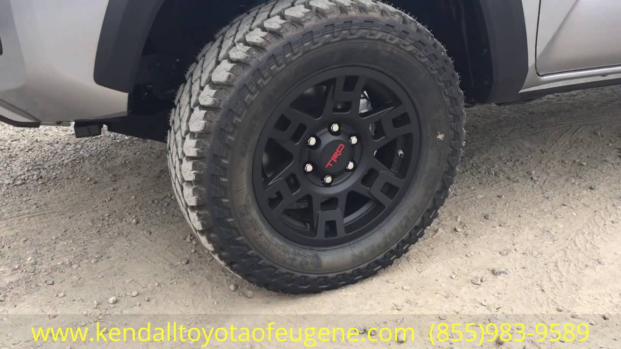 2016 Toyota Trd Offroad Tacoma With Wheel And Tire Package Youtube