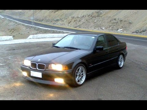 BMW E36 320i 1996 SEDAN ACELERACIÓN 0 a 100 Km/h - YouTube