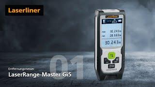 Laser-Entfernungsmesser - Innovation - LaserRange-Master Gi5 - 080.838A