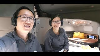 Singapore Airlines NEW Double Bed Business Class – Singapore to Sydney (SQ 221) – Airbus A380-800