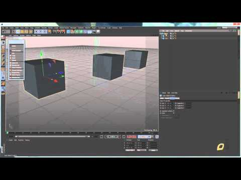 Cinema 4D   Lesson 5   Basic Commands, Save, Export, New, Open, Recent, Incremental, Backup, Close,