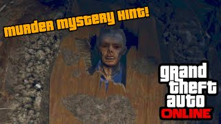 GTA 5 - Murder Mystery First Official Hint! (GTA 5 Online Michael Murder Mystery)
