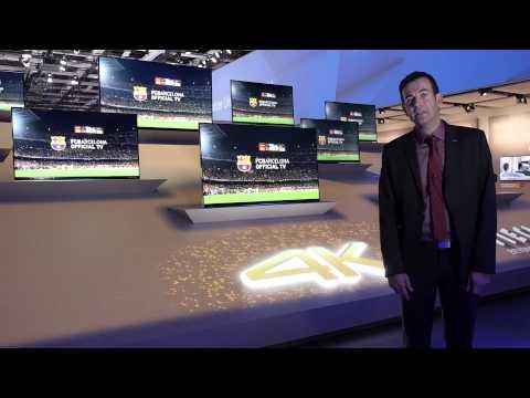 Panasonic präsentiert Neue VIERA 4K Serien 2014 #PanasonicIFA