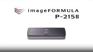 Canon Portable Document Scanner imageFORMULA P-215II
