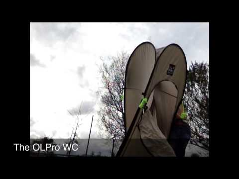 The OLPro WC Toilet Tent