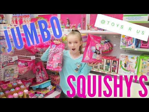 JUMBO SCENTED SLOW RISE SQUISHY'S AT TOYS R US | Bryleigh Anne