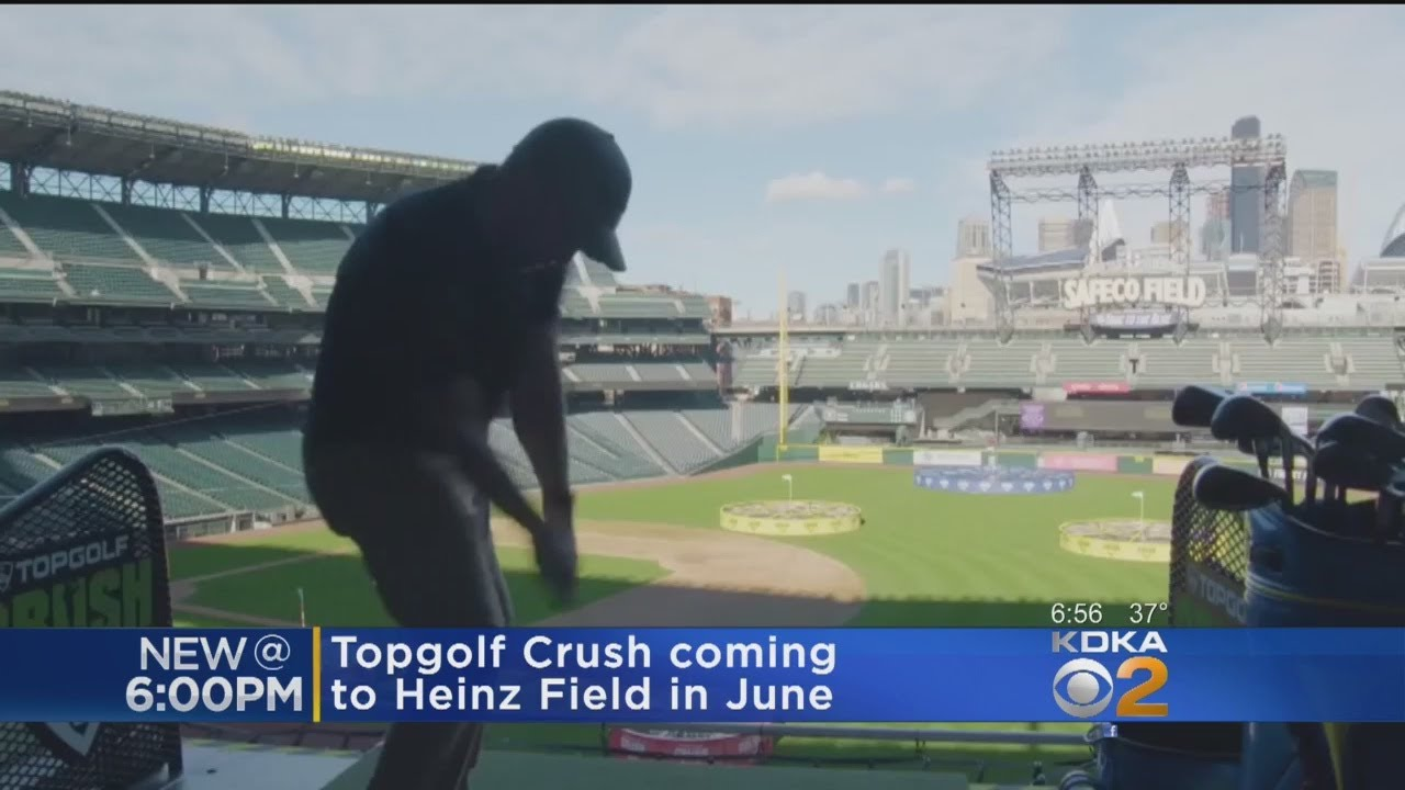 Heinz Field Teeing Up Unique Experience With TopGolf Crush