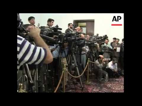 Iranian First Vice President and al-Maliki hold joint presser