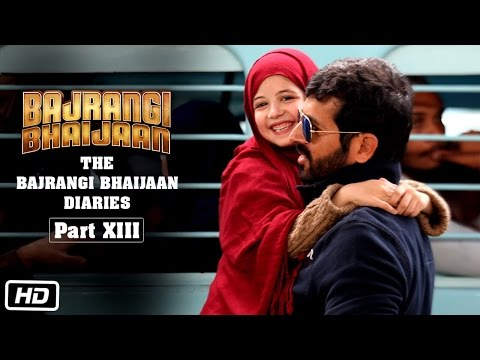 The Bajrangi Bhaijaan Diaries - Part XIII | Candid Harshaali Malhotra
