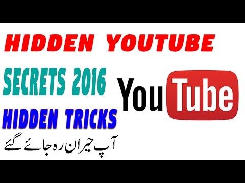 Hidden YouTube Secrets 2016 Hidden Tricks