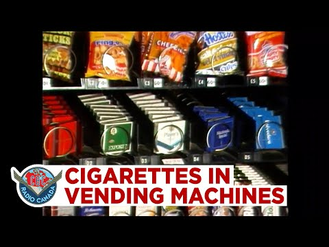 Cigarettes In Vending Machines Next To The Cheezies, 1988